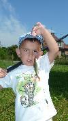 malá ryba taky ryba , hlavně že berou